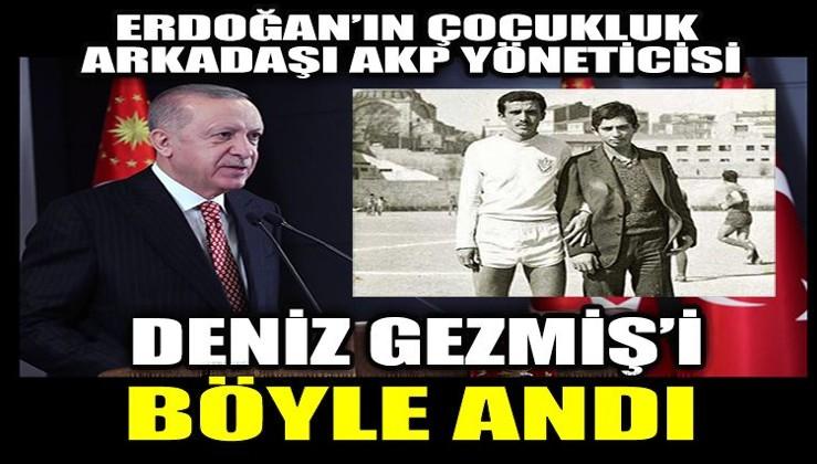 Erdoğan'ın çocukluk arkadaşından Deniz Gezmiş anması