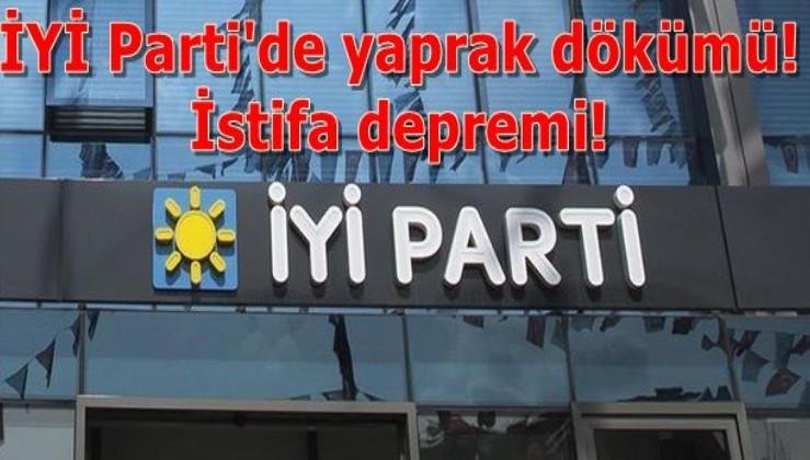 İYİ Parti'de yaprak dökümü!