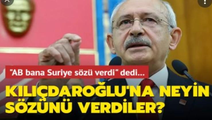 Kılıçdaroğlu Suriyelileri hangi Suriye'ye gönderecek, işte yanıtı