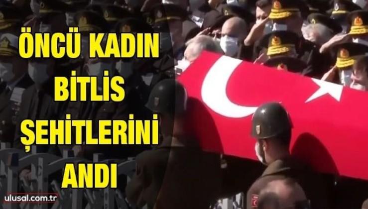 Öncü Kadın Bitlis şehitlerini andı