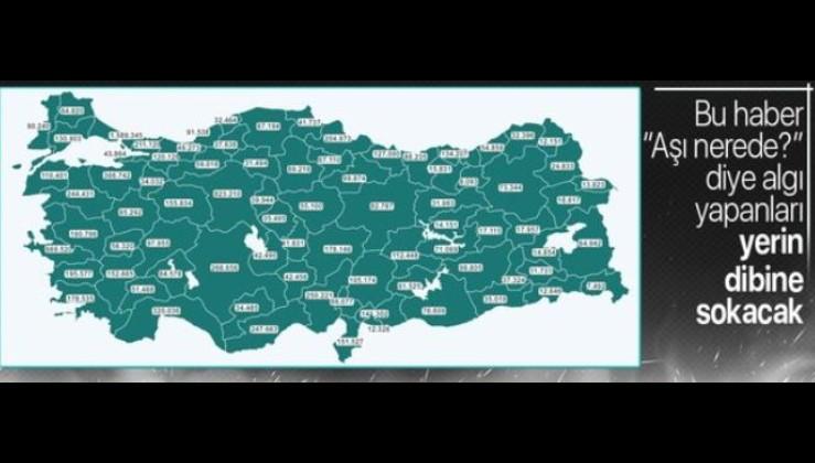 Son dakika: Türkiye'de yapılan aşı sayısı 10 milyonu geçti