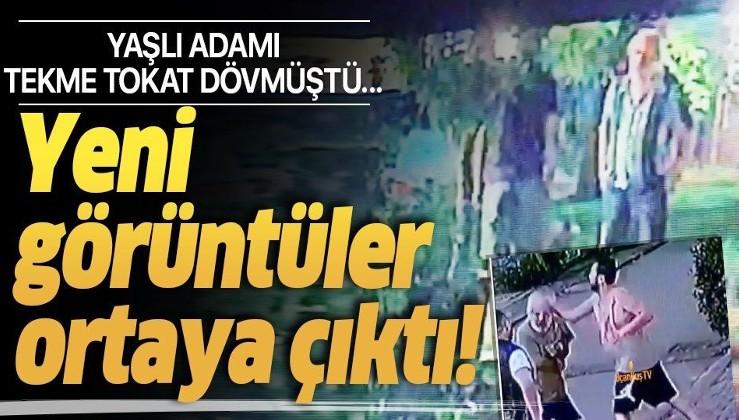 Yaşlı adamı tekme tokat dövmüştü... Halil Sezai'nin avukatı bu görüntülerle tahliye istedi