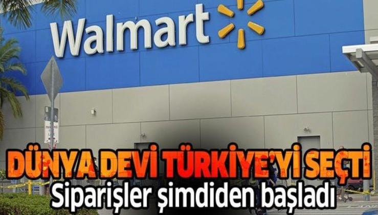 Dünyanın en büyük perakendecisi Walmart Türkiye'yi seçti