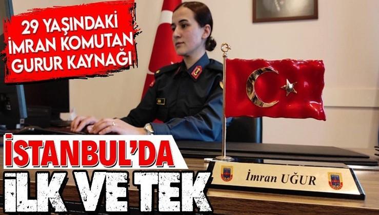 İstanbul'un ilk ve tek kadın jandarma komutanı İmran Uğur