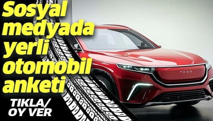 TOGG'dan sosyal medyada yerli otomobil anketi | TIKLA/KATIL.