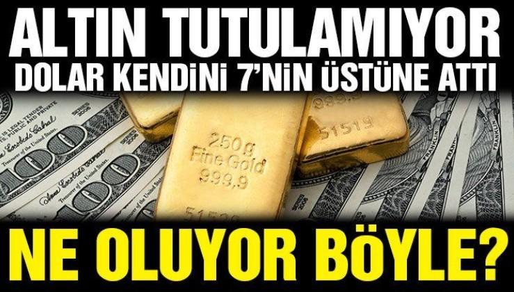 Altın ve dolarda ne oluyor?