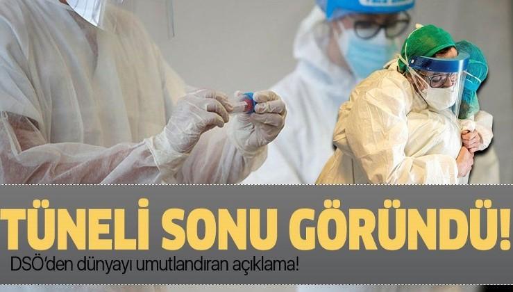 DSÖ'den dünyayı umutlandıran koronavirüs aşısı açıklaması: Tünelin sonu göründü!