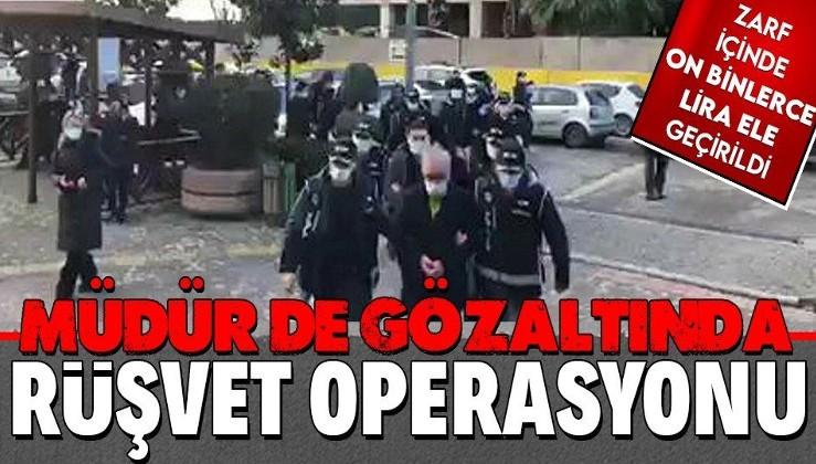 SON DAKİKA: İstanbul'da rüşvet operasyonu: 37 gözaltı