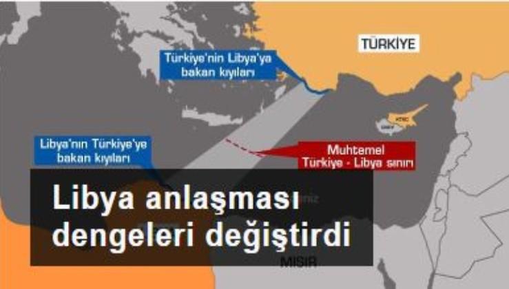 Türkiye-Libya arasındaki deniz yetki alanları anlaşması, Doğu Akdeniz'de dengeleri değiştirdi