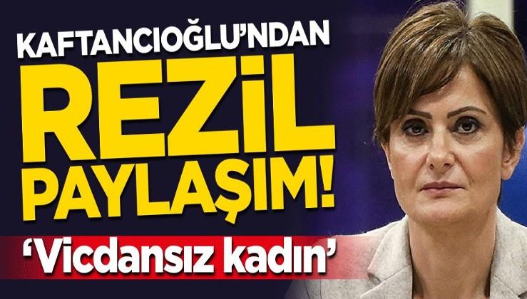 Canan Kaftancıoğlu'ndan skandal paylaşım! Algı operasyonuna Aylan bebeği alet etti