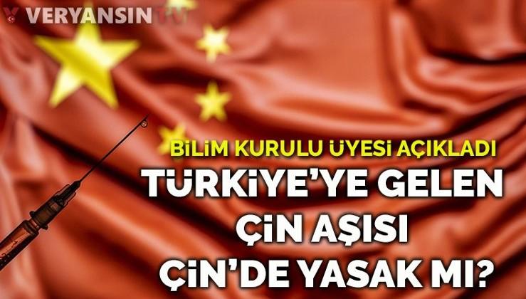 Türkiye'ye gelen Çin aşısı Çin'de yapılmıyor mu?