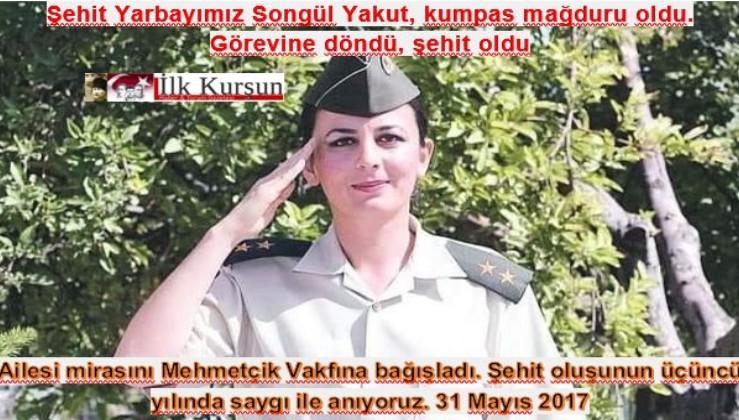 FETÖ'nün hedefindeydi...İlçe jandarma komutanı olan ilk kadın komutan Songül Yakut.