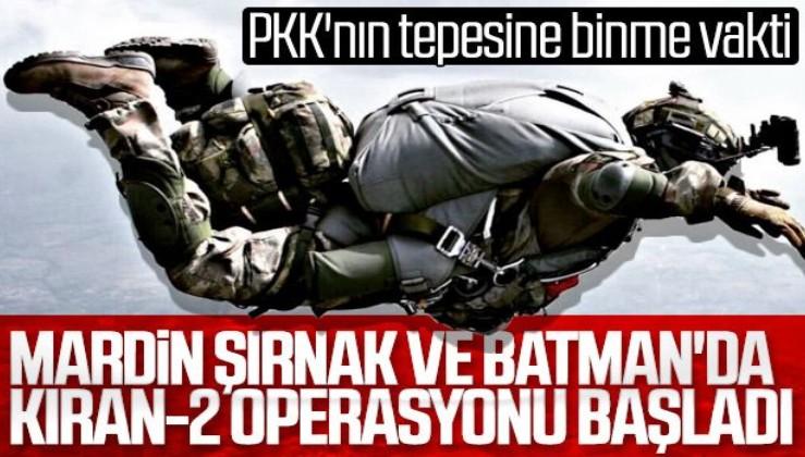 Jandarma Genel Komutanı o bölgede! Kıran-2 Ortak Operasyonu başlatıldı!