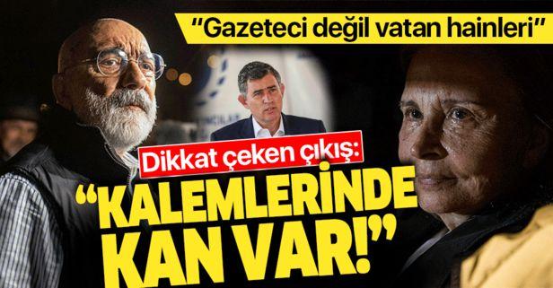Metin Feyzioğlu'ndan Nazlı Ilıcak ve Ahmet Altan açıklaması: Kalemlerinde kan vardır.