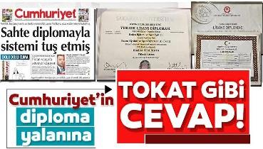İşte Hamza Yerlikaya'ya atılan 'Diploması Sahte' suçlamasını çürüten belgeler!