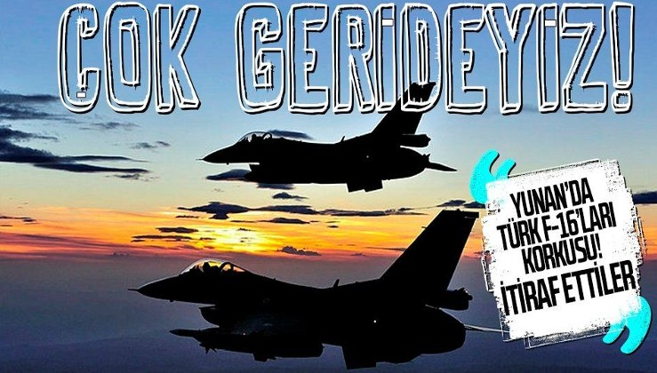 Son dakika: Türk F-16'ları Yunanistan'da panik yarattı! Yunan basını önce karşılaş