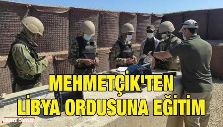 Mehmetçik'ten Libya ordusuna eğitim
