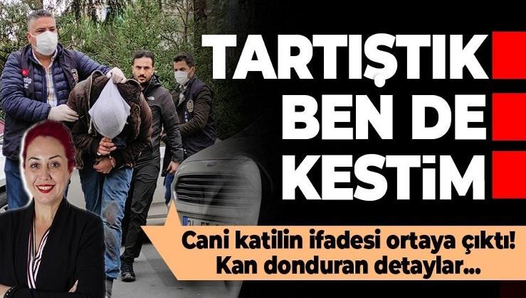SON DAKİKA: Aylin Sözer'i vahşice katleden Kemal Delbe'nin ifadesi ortaya çıktı: Elinden alıp boğazını kestim