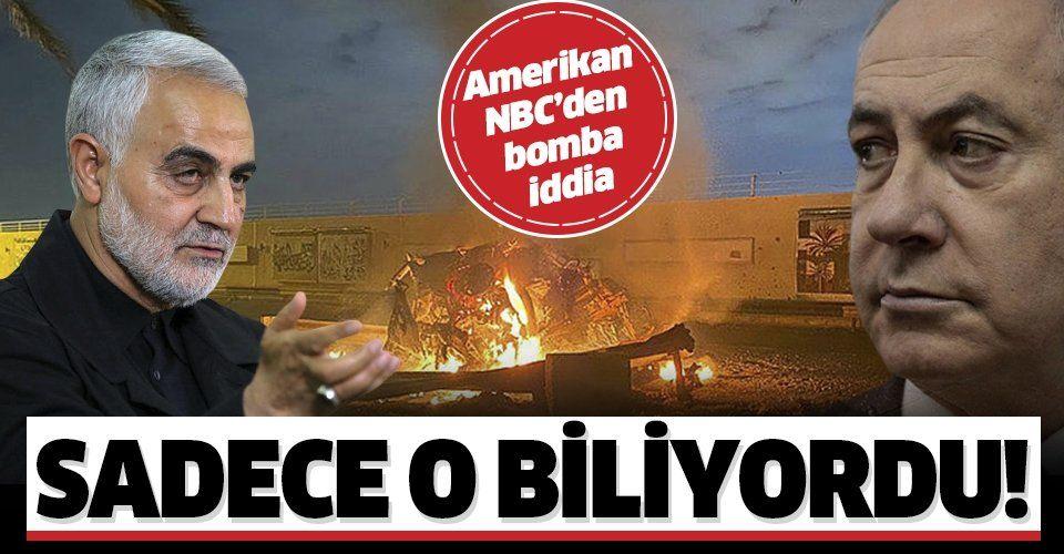 Amerikan NBC'den son dakika bombası: Süleymani suikastına İsrail istihbaratı yardım etti