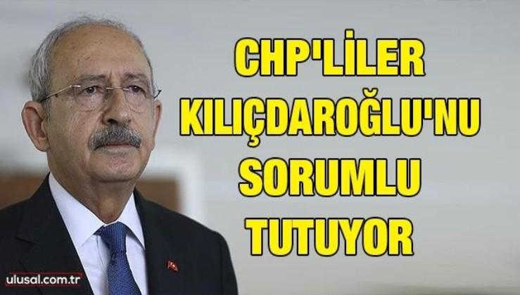 CHP'liler Kılıçdaroğlu'nu sorumlu tutuyor