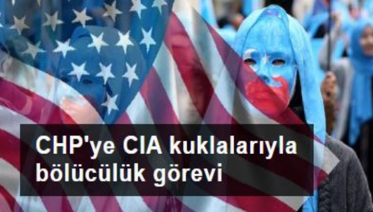 CIA kuklalarıyla bölücülük görevi