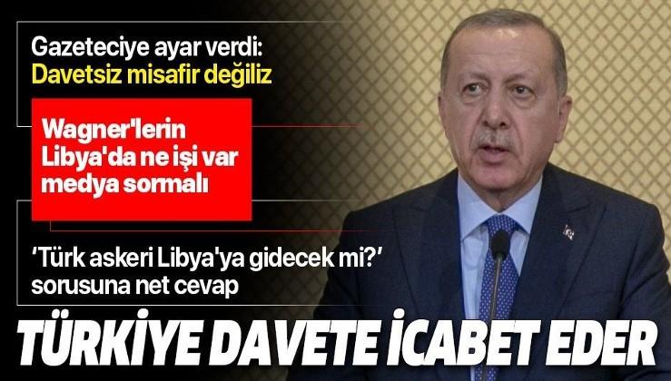 Erdoğan'dan Tunus'ta önemli açıklamalar.