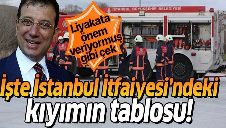 İBB'de bi skandal daha! İşte İstanbul İtfaiyesi'ndeki kıyımın tablosu!