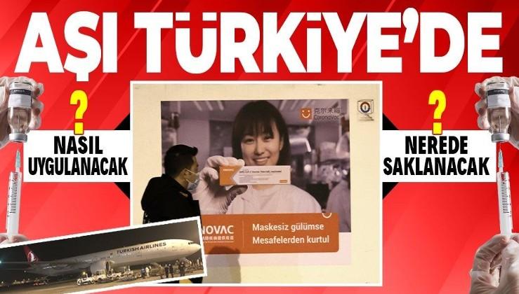 SON DAKİKA: Sağlık Bakanı Fahrettin Koca saatini duyurmuştu! SinoVac aşıları Ankara'ya ulaştı