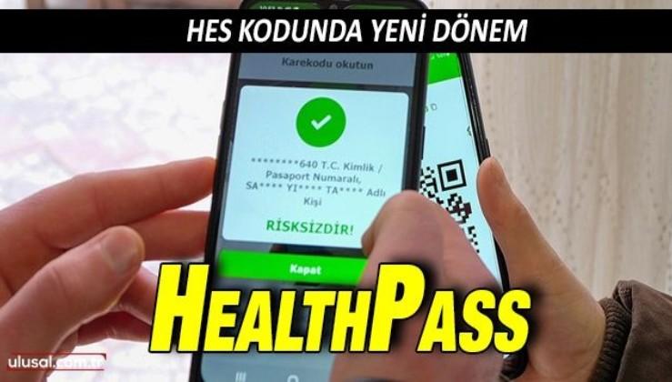 AB Uyumlu Sağlık Pasaportu için HES kodunda yeni dönem: HealthPass