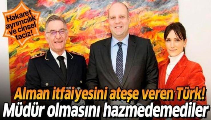 Son dakika: Alman itfaiyesinin Türk kadın başkanı Müjgan Perçin'e ayrımcılık ve taciz!