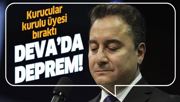 Ali Babacan'ın DEVA Partisi'nde istifa depremi! Kurucular Kurulu Üyesi...