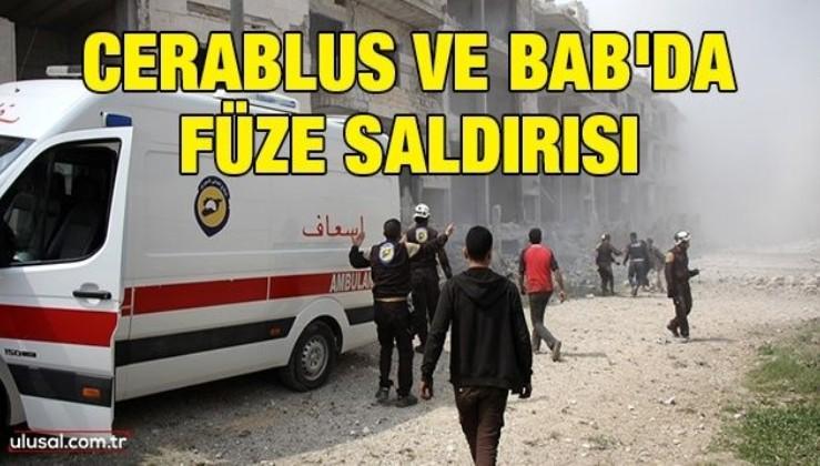 Cerablus ve Bab'da füze saldırısı: 3 ölü, 28 yaralı