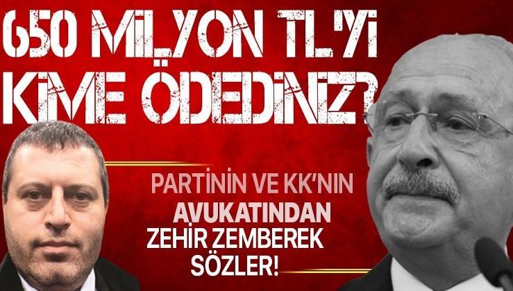 CHP'nin istifa eden avukatı Mustafa Kemal Çiçek'ten Kemal Kılıçdaroğlu'nu zora sokacak soru: 650 milyon TL'yi kime verdiniz?