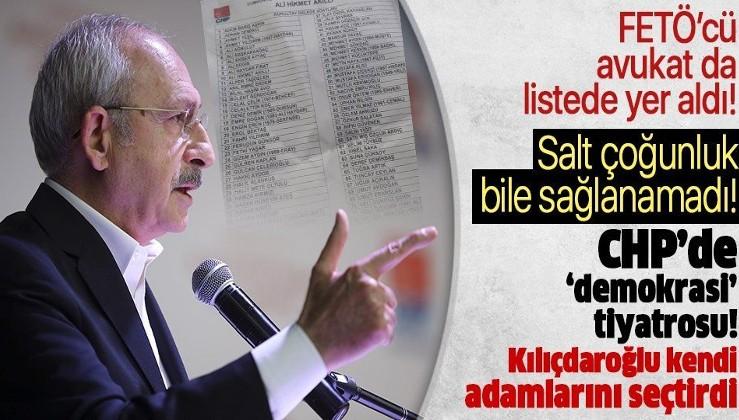 CHP Ankara İl Başkanı seçilen Ali Hikmet Akıllı'nın listesinde FETÖ'cü
