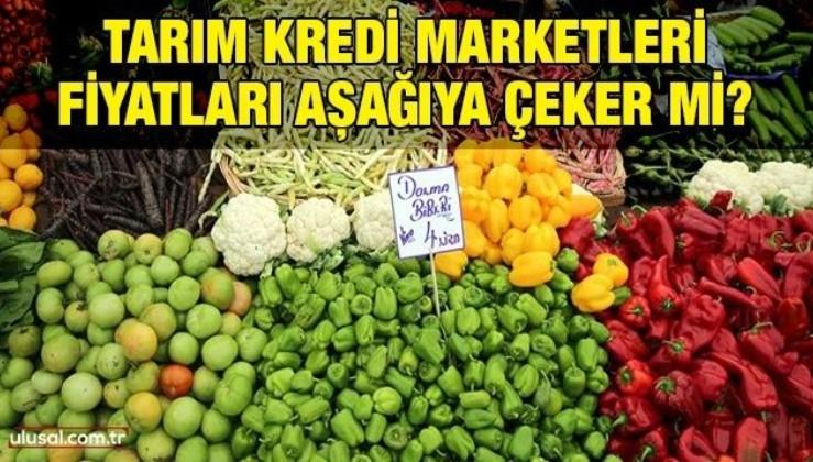 Tarım kredi marketleri gıda fiyatlarını aşağıya çeker mi?