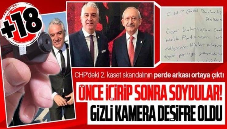 SON DAKİKA: CHP'deki 2. kaset skandalında flaş gelişme: Teoman Sancar'a şantajda istenen cezalar belli oldu