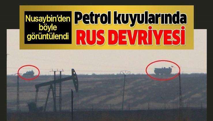 Suriye'deki petrol kuyularında Rus polisi devriyesi!.