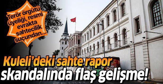 Kuleli'de 44 öğrenciye sahte rapor verdiği iddia edilen 1 doktor daha tutuklandı.