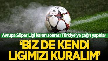 Avrupa Süper Ligi sonrası Rusya'dan Türkiye'ye çağrı! 'Kendi ligimizi kuralım'