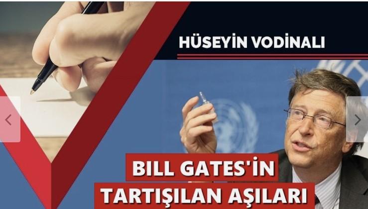Bill Gates'in tartışılan aşıları