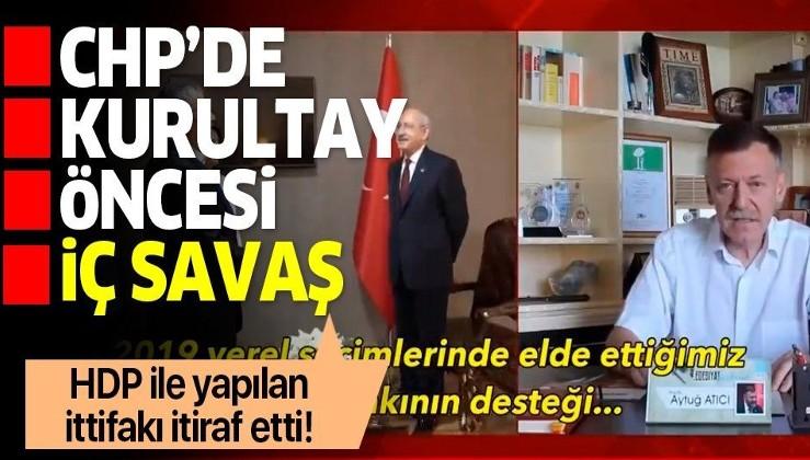 CHP'de kurultay öncesi savaş başladı: Eski vekil Aytuğ Atıcı Kemal Kılıçdaroğlu'na meydan okudu