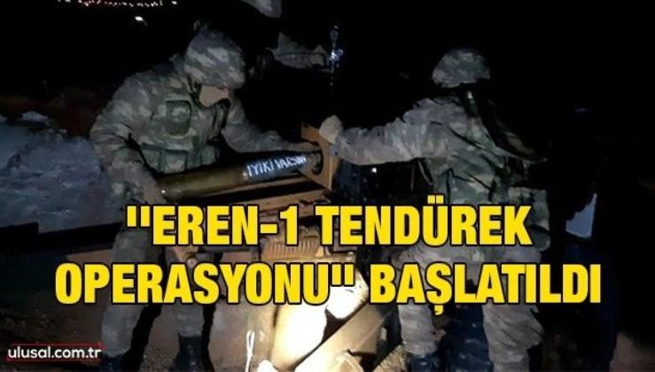 ''Eren-1 Tendürek Operasyonu'' başlatıldı