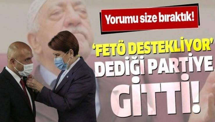 MHP'den ihraç edilen Erhan Usta 'FETÖ destekliyor' dediği İYİ Parti'ye geçti
