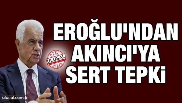 Derviş Eroğlu'ndan Akıncı'ya sert tepki: Fırsat vermeyeceğiz!