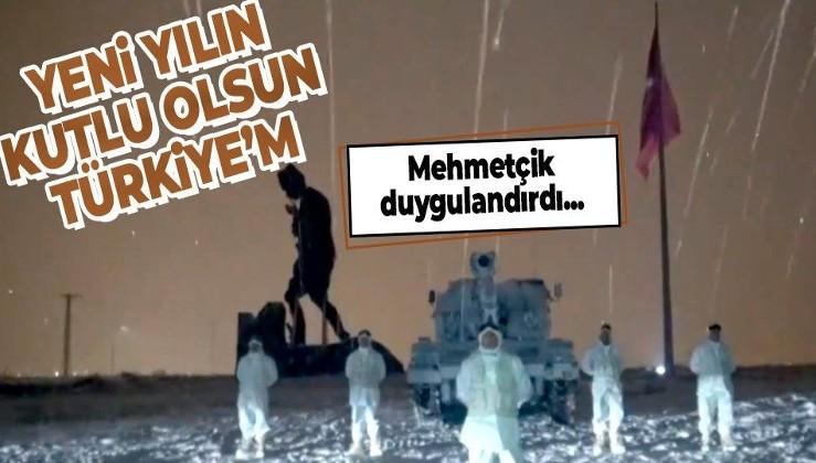Mehmetçikten duygulandıran yeni yıl mesajı: Yeni Yılın Kutlu Olsun Türkiye'm