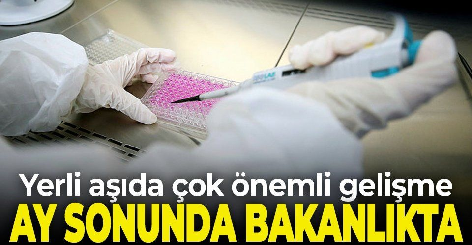 SON DAKİKA! Bakan Varank açıkladı: Yerli aşının Faz 2 sonuçları ay sonunda Sağlık Bakanlığı'nda