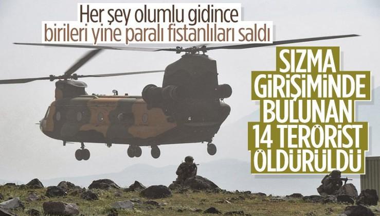 SON DAKİKA: Barış Pınarı Bölgesi'nde 14 PKK/YPG'li terörist etkisiz hale getirildi