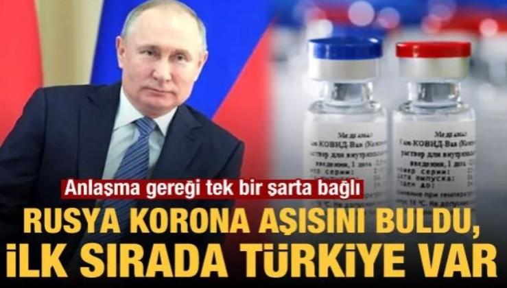 Rusya ilk coronavirüs aşısının tescil edildiğini açıkladı! Aşının ilk ulaşacağı ülkelerden biri de Türkiye olacak