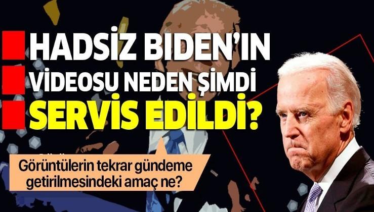 Türk düşmanı Joe Biden'ın hadsiz açıklamaları neden şimdi servis edildi?