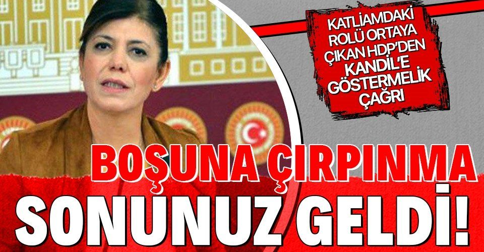 13 şehidin kanı elinde olan HDP katliamdaki rolü ortaya çıkınca PKK'ya göstermelik çağrıda bulundu!